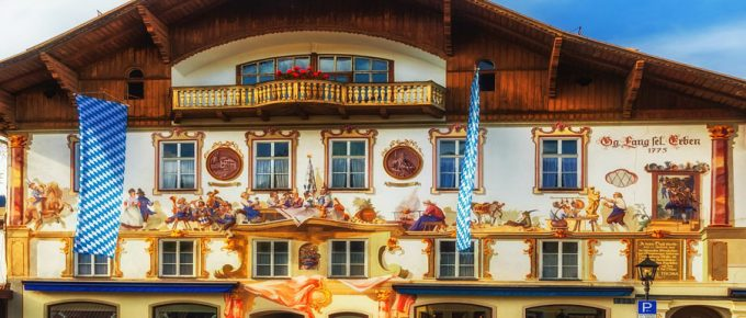My Visit to Oberammergau the Town of the Passion Play