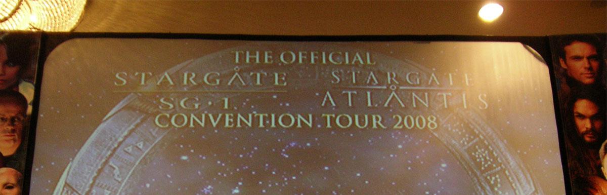 We Arrive – Stargate SG1 & Stargate Atlantis Convention 2008