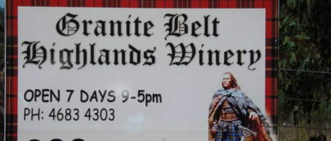 A Visit to Wineries in the Granite Belt – The Granite Belt Highlands Winery