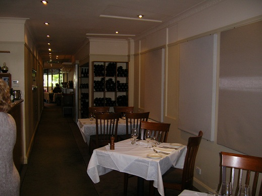 Rubicon Restaurant, Looking Through to the Dining Area,travel,canberra,traveltripz.com