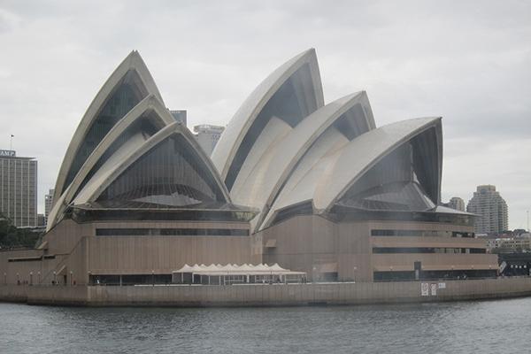 Sydney Opera House, harbour side, sydney, travle