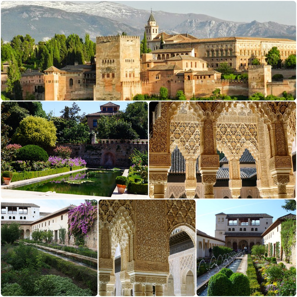 alhambra,spain,travel