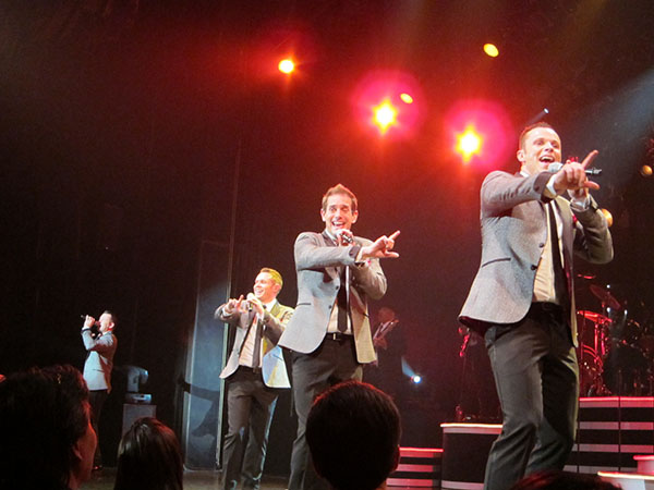 human nature in concert,las vegas, travel