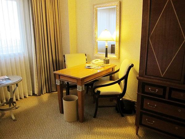 caesars-palace-desk,las vegas, travel