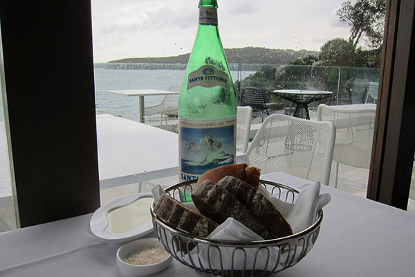 Manly-Pavillion-restaurant-bread,salt, water