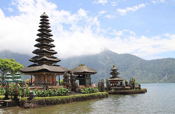 pagoda bali, travel, asia