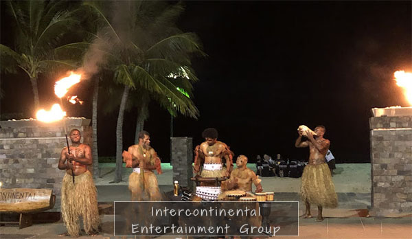 fiji entertainment group, intercontinental, travel