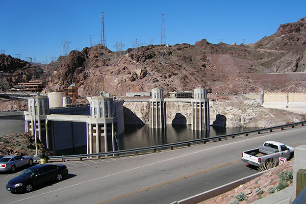 hoover-dam, usa, travel, las vegas