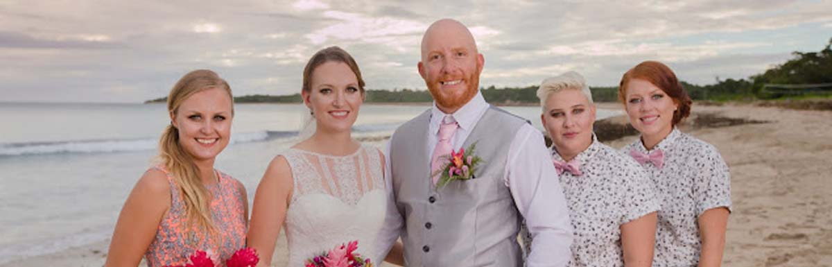 Celebrating A Wedding at the Yatule Resort & Spa in Fiji