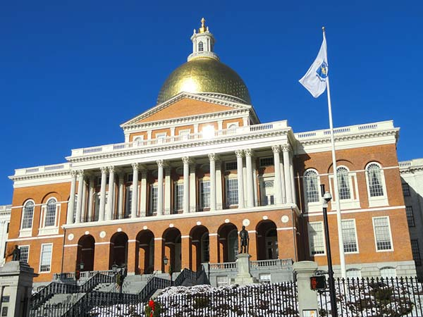 boston, massachusetts state house, travel, usa