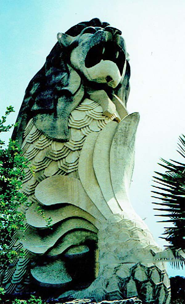 sentosa-island, merlion, singapore,travel