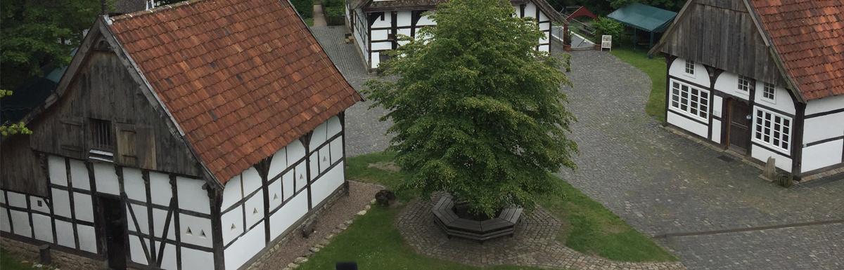 Visiting the Bielefeld Farmhouse Museum Olderdissen
